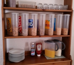 Annie's SouthShields GuestHouse Choice Of Breakfast Menu Cereals