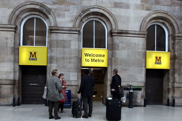 Newcastle upon Tyne Central Station Metro Entrance