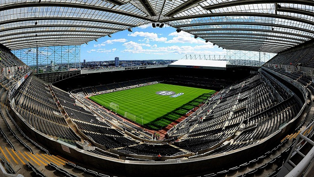 St James' Park Home Of Newcastle United Newcastle Upon Tyne NE1 4ST