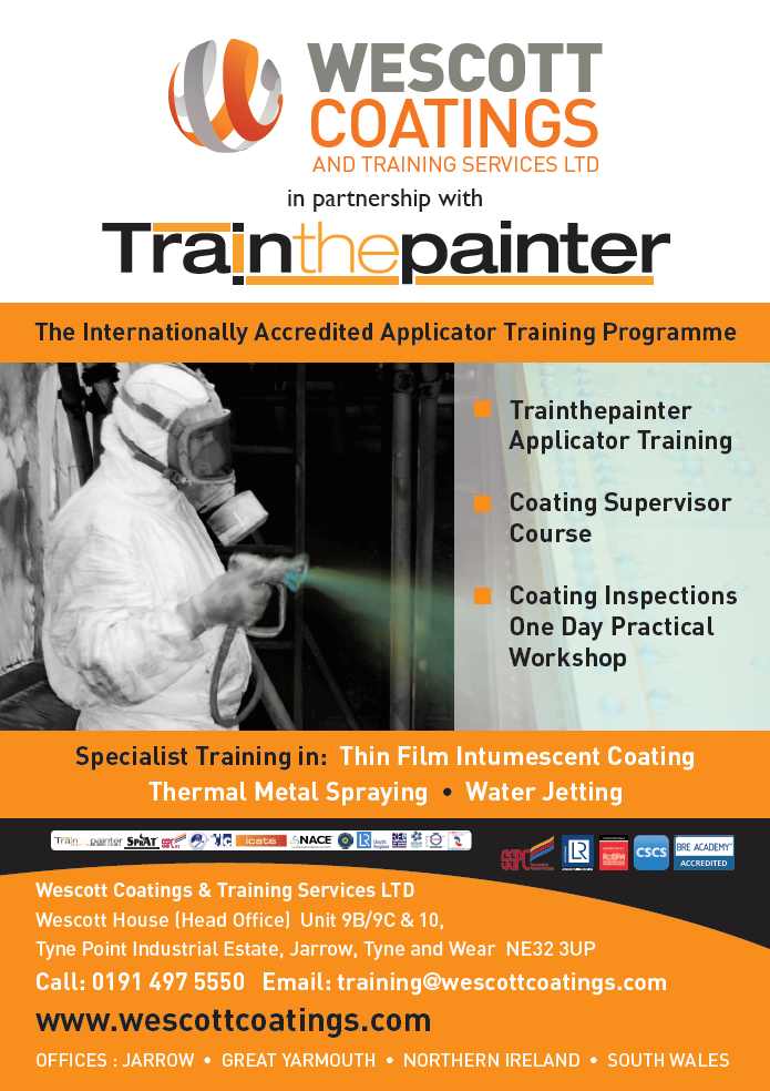Wescott Coatings And Training Services Jarrow NE32 3UP Train The Painter Course